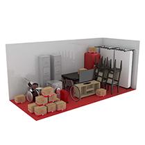 21 square metre storage unit