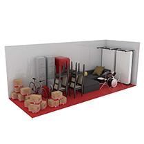 24 square metre storage unit