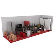 27 square metre storage unit