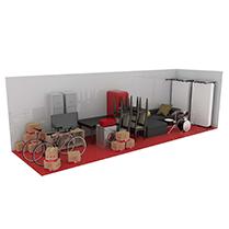 30 square metre storage unit