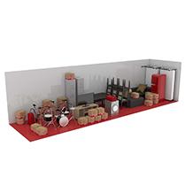 36 square metre storage unit