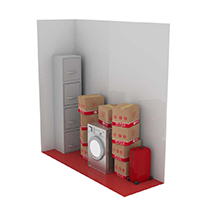 3 square metre storage unit