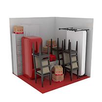 9 square metre storage unit