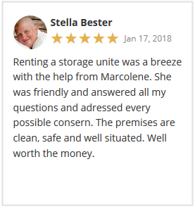 Stor-Age Google Reviews Pretoria