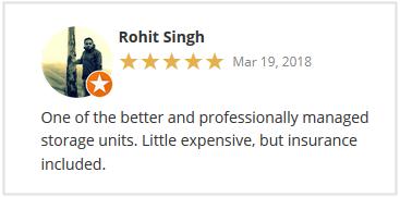 Stor-Age Google Reviews Johannesburg