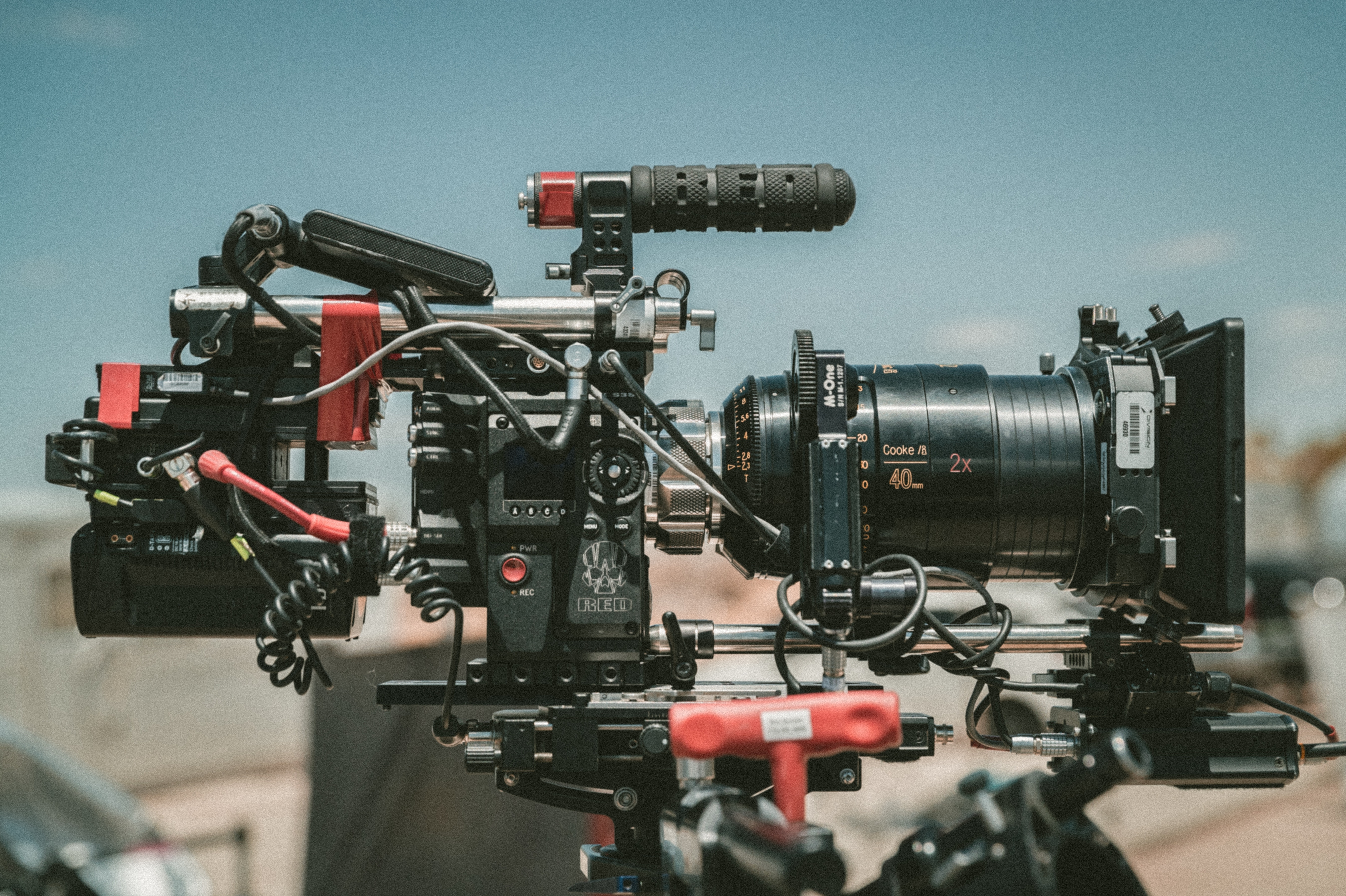 Film production in Cape Town